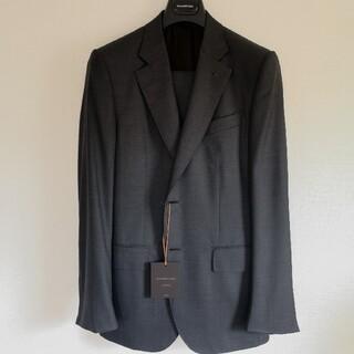 Ermenegildo Zegna - 新品エルメネジルドゼニアクチュール ダークグレーウールスーツ サイズ50