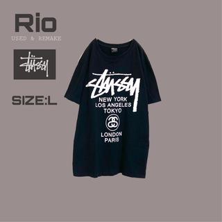 STUSSY - STUSSY ステューシー Tシャツ ワールドツアー