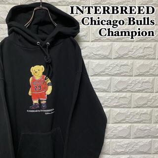 Champion - 【INTERBREED】ブルズ×チャンピオン プルオーバーパーカー
