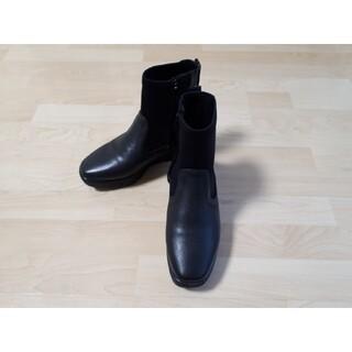 bussola 厚底ショートブーツ 黒 ブラック(ブーツ)