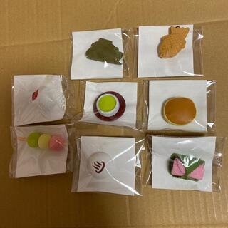 KIRIN おもしろ消しゴム和菓子 串団子&いちご大福&たい焼き&温泉まんじゅう(消しゴム/修正テープ)