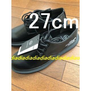 ジーユー(GU)のブラック 27 GU UNDERCOVER アンダーカバー ラウンドトゥシューズ(ドレス/ビジネス)