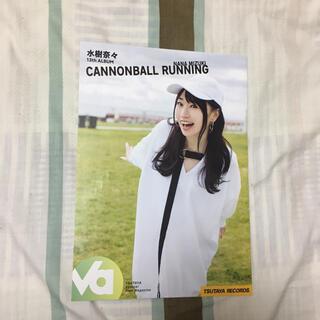 水樹奈々 ポスター TSUTAYA CANNONBALL RUNNING(ポスター)