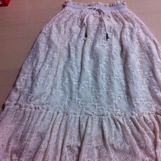 ミーアンドミークチュール(me & me couture)のLittle Me ロングスカート(ロングスカート)