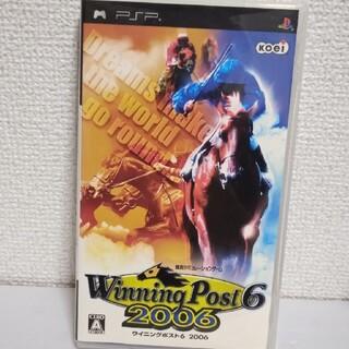 コーエーテクモゲームス(Koei Tecmo Games)のウイニングポスト6 2006 PSP(携帯用ゲームソフト)