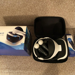 PlayStation VR - PSVR本体 モーションコントローラー2個付き