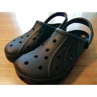 crocs - 【激安送料込】今だけ値下げ大人気早い者勝ちブラック クロックスサンダル24cm