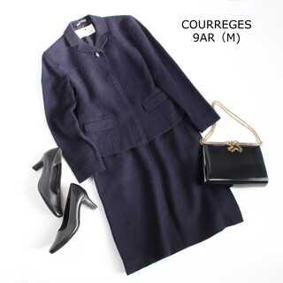 クレージュ(Courreges)のクレージュ★9AR(M) アンゴラ混 セットアップスーツ お受験スーツ 式典(スーツ)