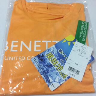 ベネトン(BENETTON)の【新品】 ベネトン ラッシュガード Tシャツ M オレンジ 半袖(Tシャツ(半袖/袖なし))