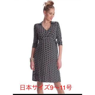 セラファン(SERAPHIN)のセラフィン  マタニティワンピース 授乳可能 袖 7分袖(マタニティワンピース)