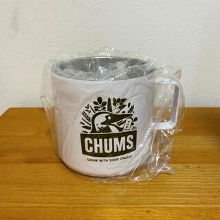 CHUMS - 十六茶×CHUMSオリジナルサーモスステンレスマグ(カーキ) 未使用新品