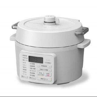 アイリスオーヤマ - 【即購入OK】アイリスオーヤマ 電気圧力鍋 2.2L PC-MA2-W ホワイト