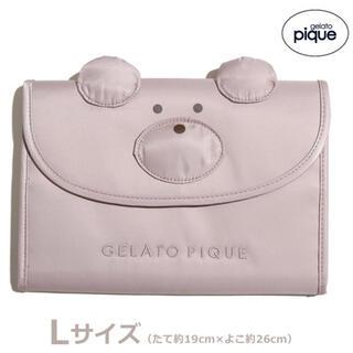 gelato pique - 新品 ジェラートピケ ベア母子手帳ケース Lサイズ くま テディベア