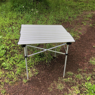 モンベル(mont bell)のモンベル アルミ フォールディングテーブル 4人用 生産終了モデル 入手困難(アウトドアテーブル)