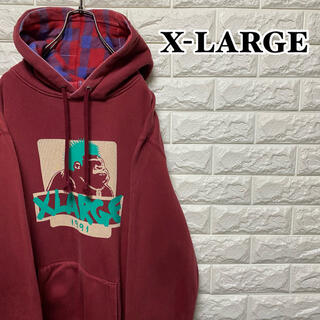 XLARGE - 【X-LARGE】プルオーバーパーカー PUNKOG