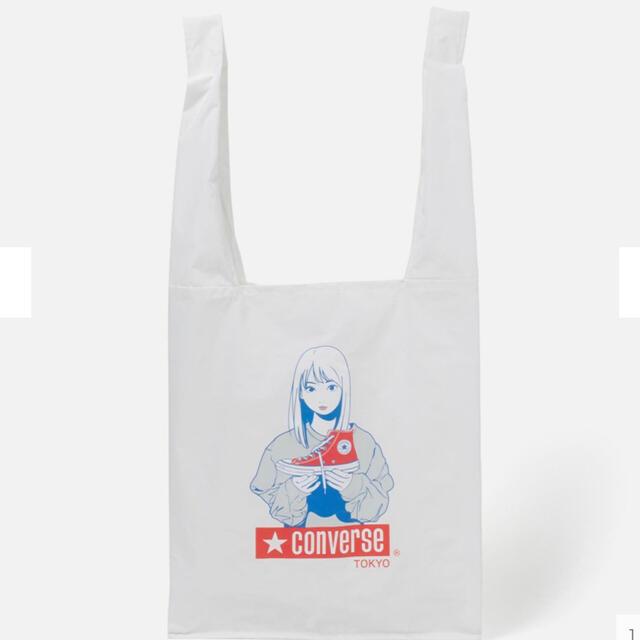 CONVERSE(コンバース)のパッカブルエコバッグ CONVERSE TOKYO 福岡店限定 レディースのバッグ(エコバッグ)の商品写真
