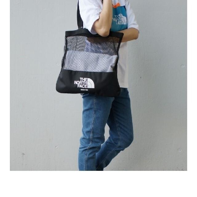 THE NORTH FACE(ザノースフェイス)の2021年 最新作! THE NORTH FACE   メッシュ素材トートバッグ メンズのバッグ(トートバッグ)の商品写真