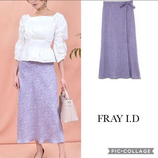 FRAY I.D - 【白石麻衣着用/カタログ掲載】美品 フレイアイディー 小花柄 スカート