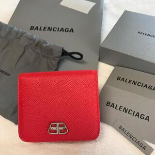 バレンシアガ(Balenciaga)のバレンシアガBALENCIAGA 折財布 ミニ レザー 新品未使用(財布)
