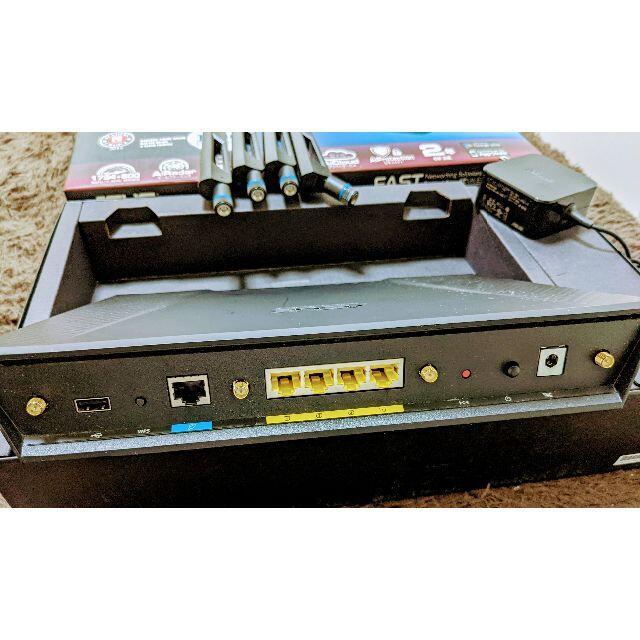 ASUS(エイスース)のASUS RT-AC87U 1734Mbps ギガビットルーター スマホ/家電/カメラのPC/タブレット(PC周辺機器)の商品写真