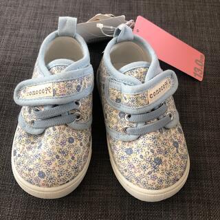 Caramel baby&child  - 【新品タグ付】conoco 小花柄シューズ 13cm