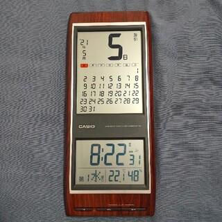 CASIO - (中古)CASIO idc-350j 壁掛け電波時計