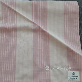 クレージュ(Courreges)のcourreges クレージュ ハンカチ 綿100% 新品未使用(ハンカチ)