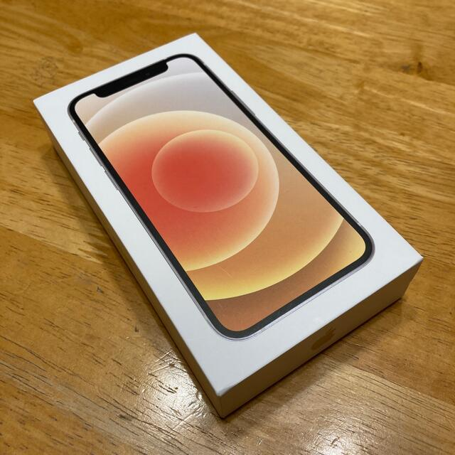 iPhone(アイフォーン)の【最終値下げ】iPhone12 mini 64GB ホワイト 未使用 スマホ/家電/カメラのスマートフォン/携帯電話(スマートフォン本体)の商品写真