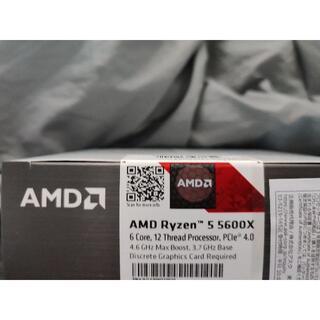 [新品未開封] AMD Ryzen 5 5600X
