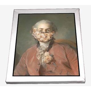 CHP04-フォルカー 隠された肖像画 キャンバスアート 模写(ボードキャンバス)