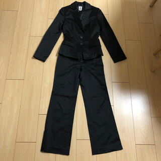 エムケーミッシェルクラン(MK MICHEL KLEIN)の【美品】MKミッシェルクラン:ブラック 上下パンツスーツ(スーツ)