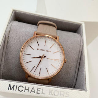 マイケルコース(Michael Kors)の新品 マイケルコース 腕時計 レディース 革ベルト(腕時計)