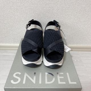 snidel - スニーカーソールサンダル SNIDEL スナイデル 新品
