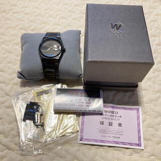 ワイアード(WIRED)のWIRED ワイアード 腕時計(腕時計(アナログ))