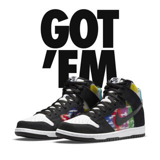 NIKE - NIKE SB  DUNK HIGH Test Pattern 27.5センチ