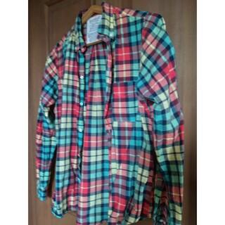 ゴートゥーハリウッド(GO TO HOLLYWOOD)のGTHチェックシャツ160(ブラウス)