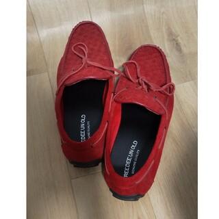 【メンズ】赤い靴(ドレス/ビジネス)