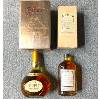 ニッカウイスキー(ニッカウヰスキー)の新品 ニッカウイスキー スーパーニッカ ライベース ウイスキー特級 2本セット(ウイスキー)