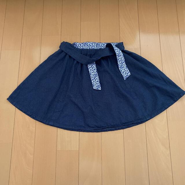familiar(ファミリア)の【美品】春夏用ファミリア スカート 140cm キッズ/ベビー/マタニティのキッズ服女の子用(90cm~)(スカート)の商品写真