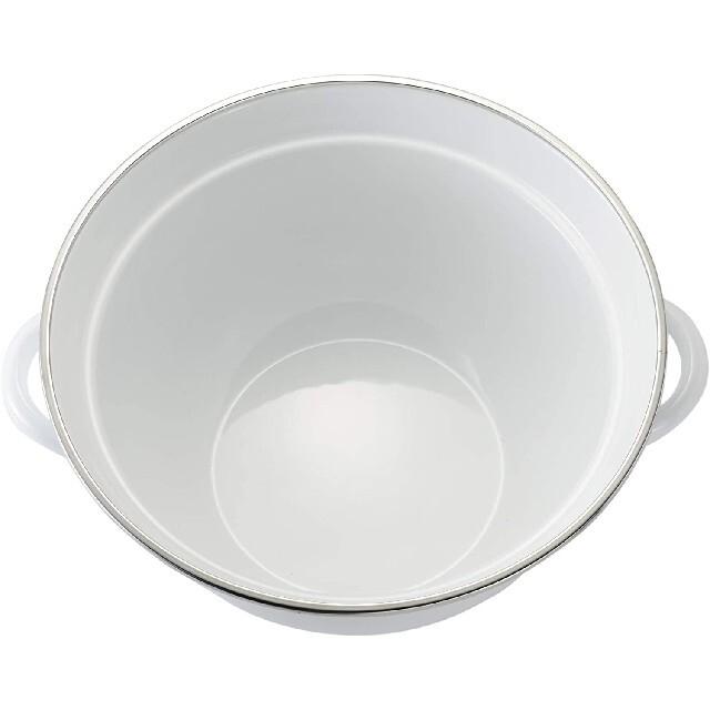 富士ホーロー(フジホーロー)の富士ホーロー クリスティーナ 多機能鍋23cm 3.2L JC-23FW インテリア/住まい/日用品のキッチン/食器(鍋/フライパン)の商品写真