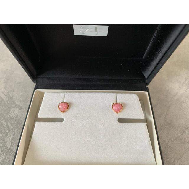 ジュエリーマキ(ジュエリーマキ)のジュエリーマキ k18  ピアス インカローズ レディースのアクセサリー(ピアス)の商品写真