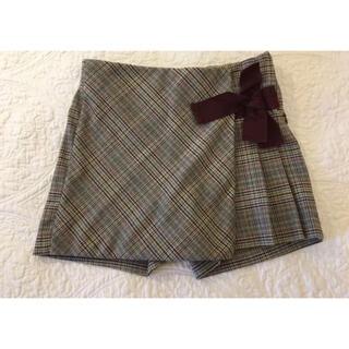 ザラ(ZARA)のZARA GIRLS スカートス風ショートパンツ 110cm(パンツ/スパッツ)
