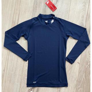 ニューバランス(New Balance)の140cm ニューバランス jr アンダーモックネックシャツ (新品送料込)(Tシャツ/カットソー)