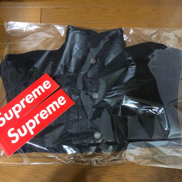 Supreme(シュプリーム)のFrayed Logos Denim Trucker Jacket メンズのジャケット/アウター(Gジャン/デニムジャケット)の商品写真