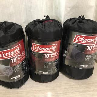 コールマン(Coleman)のコールマン フリース寝袋 Coleman 3色セット(寝袋/寝具)