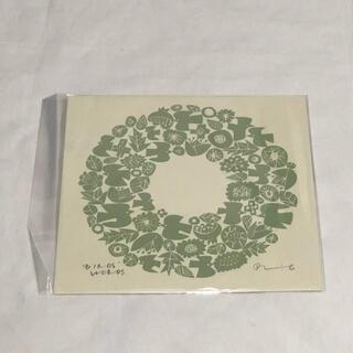 mina perhonen - バーズワーズ シルクスクリーン 20 wreath ポスター リース 20