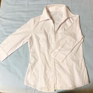 アールユー(RU)のアールユー ピンクシャツ レディース(シャツ/ブラウス(長袖/七分))