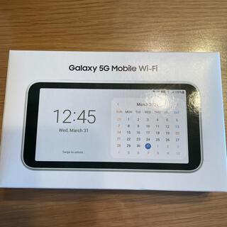 Galaxy - 新品未使用 SCR01  5G モバイルルーター au