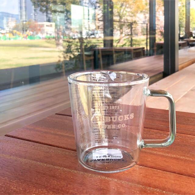 Starbucks Coffee(スターバックスコーヒー)のスターバックス 耐熱グラスマグ ライトブルー マグカップ スタバ 青 グラス インテリア/住まい/日用品のキッチン/食器(グラス/カップ)の商品写真