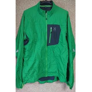ホグロフス(Haglofs)の値下げ ホグロフス シールドジャケット ウィンドシェル メンズL(登山用品)